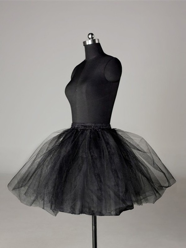 Tulle Netting Ball-Gown 2 Tier Short Length Special Occasion Petticoats